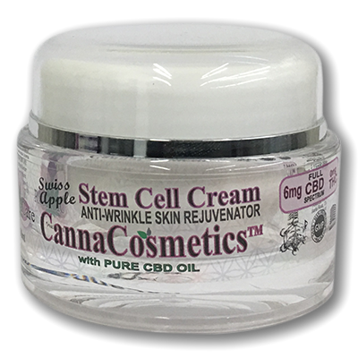 Canna Cosmetics CBD Apple Stem Cell Cream